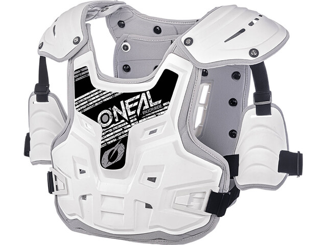 ONeal PXR Stone Shield Protektor grå/hvid
